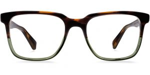 Warby Parker Eyeglasses - Chamberlain in Saddle Sage