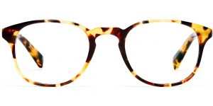 Warby Parker Eyeglasses - Downing in Walnut Tortoise