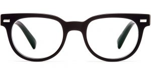 Warby Parker Eyeglasses - Duckworth in Jet Black Matte