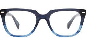 Warby Parker Eyeglasses - Duval in Blue Slate Fade