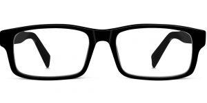 Warby Parker Eyeglasses - Felton in Jet Black
