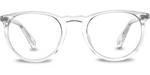 Warby Parker Eyeglasses - Haskell in Crystal