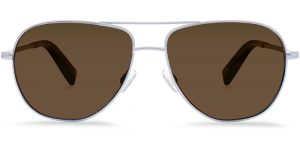 Warby Parker Sunglasses - Halford in Jet Silver