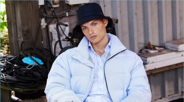 William Los Sports Statement Outerwear for InStyle Men Germany