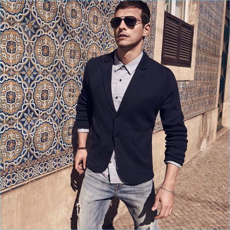 Smart style is front and center as Alexandre Cunha connects with s.Oliver.