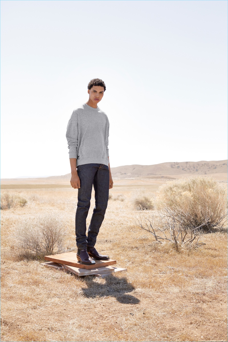 AG Jeans taps Sol Goss as the face of its fall-winter 2018 campaign.