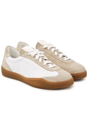 Acne Studios Lars Leather Sneakers with Suede