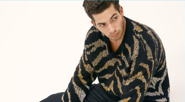 Antoine Lorvo Rocks Animal Prints for Modern Luxury Cover Story