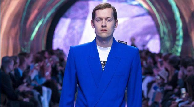 Balenciaga Balances Tailoring & Modernity for Spring '19 Collection