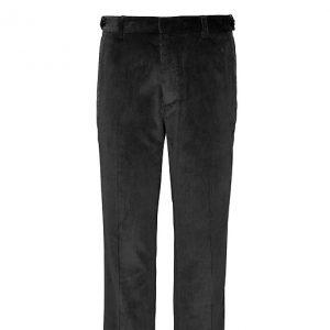 Banana Republic Mens BR x Kevin Love Athletic Tapered Corduroy Dress Pant Dark Shadow Black Size 26W