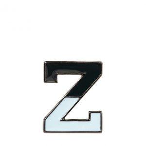 Banana Republic Mens BR x Kevin Love Enamel Z Pin Minty Blue Size One Size