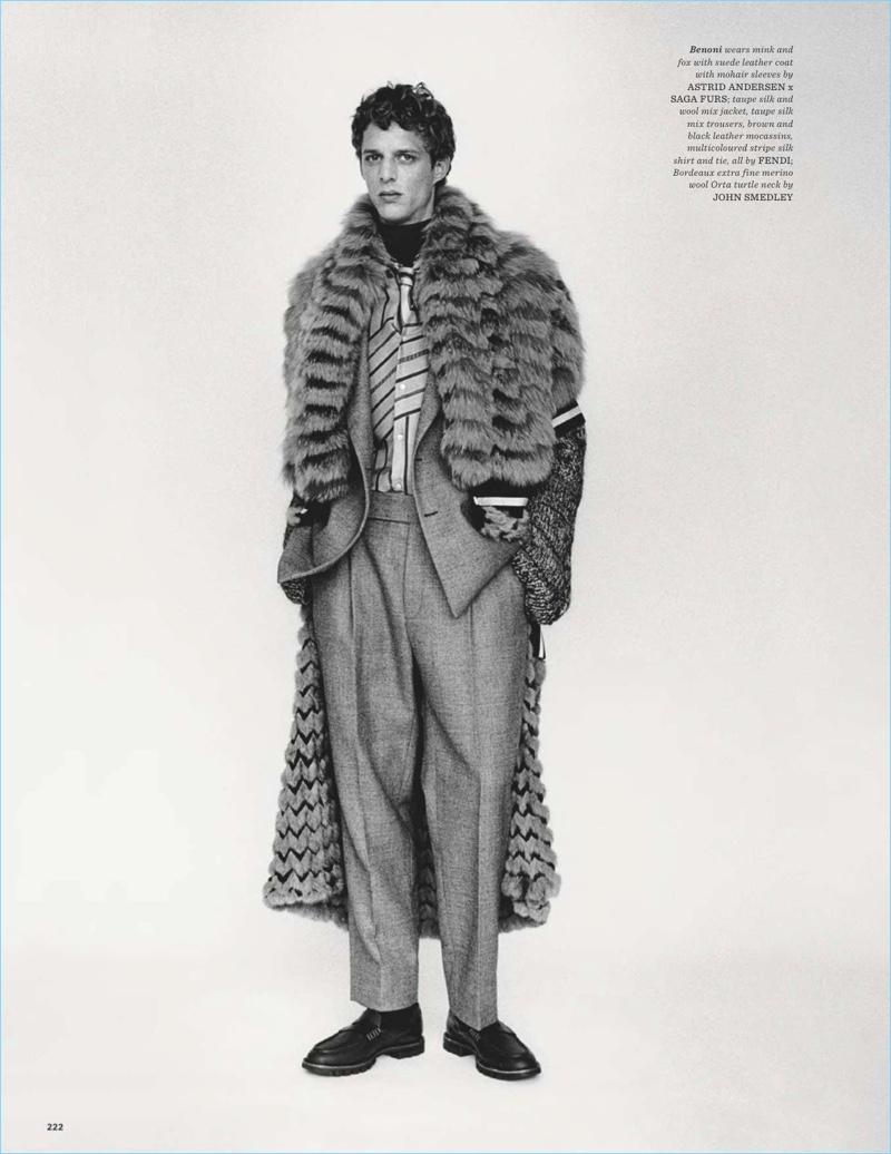Colder Heavens: Benoni Loos for British GQ Style
