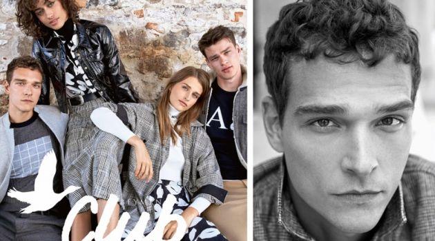Alexandre Cunha, Alanna Arrington, Regitze Christensen, and Filip Hrivnak front Beymen Club's fall-winter 2018 campaign.