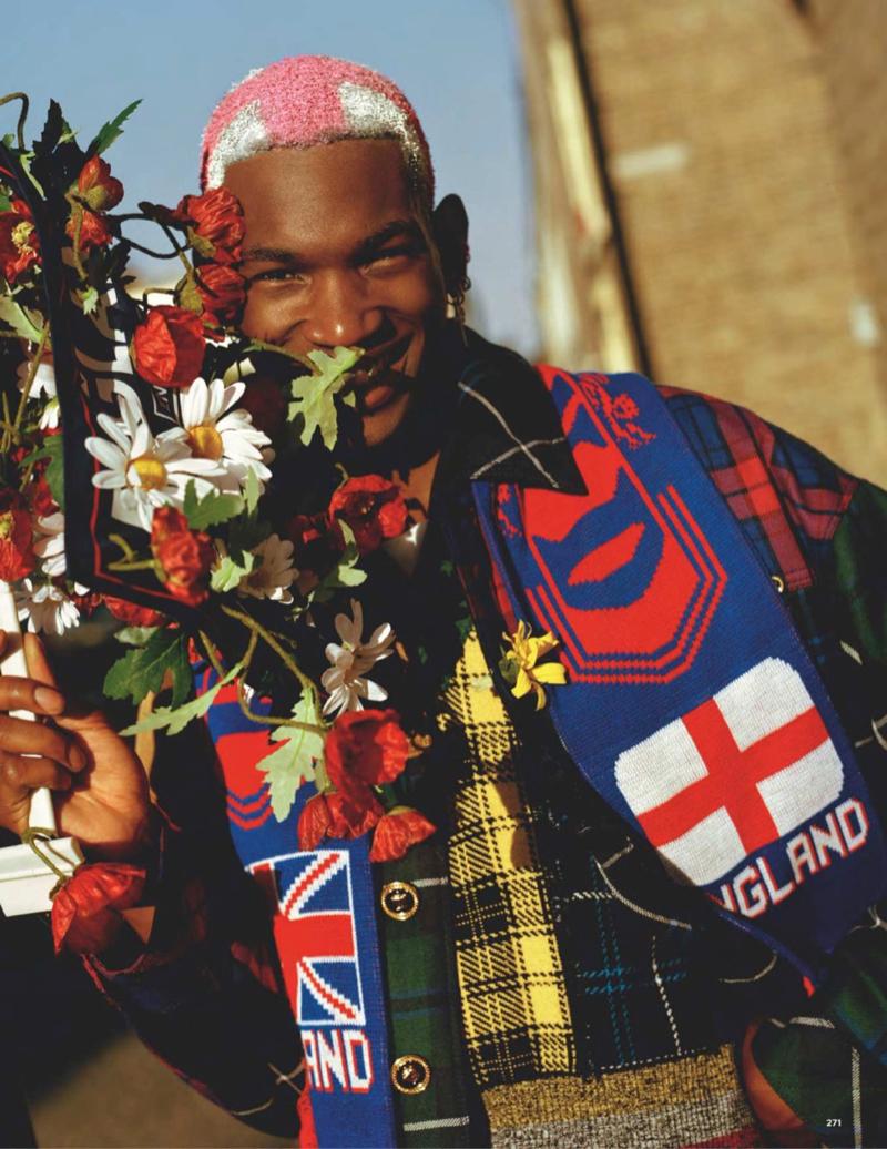 British GQ Style Celebrates Versace's 40th Anniversary