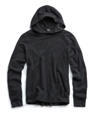 Cashmere Popover Hoodie in Grey
