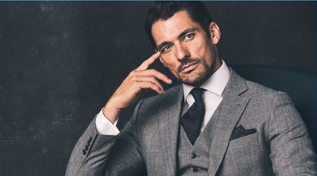 David Gandy Finds Sartorial Stride with Latest Marks & Spencer Collaboration