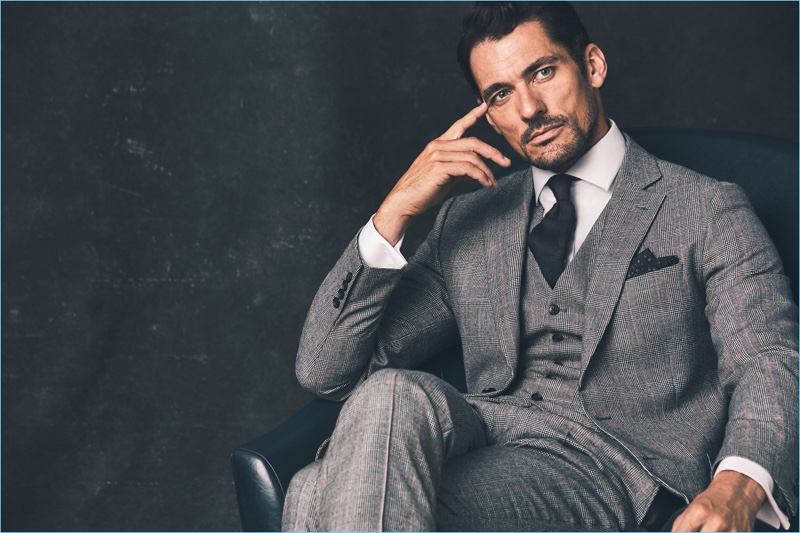 David Gandy Marks Amp Spencer Fall 2018 Collaboration The