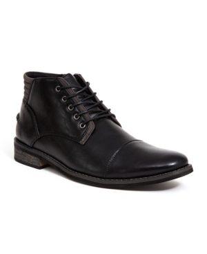 Deer Stags Men's Rhodes Memory Foam Dress Comfort Casual Fashion Cap Toe Chukka Boot Men's Shoes