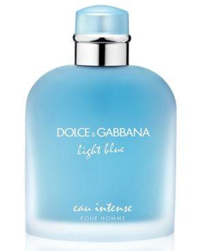Dolce & Gabbana Men's Light Blue Eau Intense Pour Homme Eau de Parfum Spray, 6.7 oz