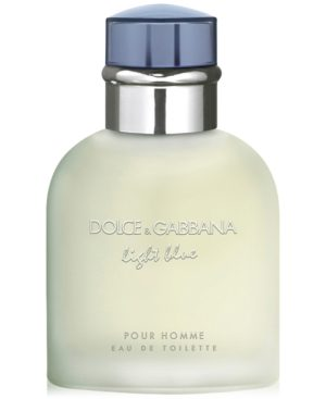 Dolce & Gabbana Men's Light Blue Pour Homme Eau de Toilette Spray, 1.3 oz.