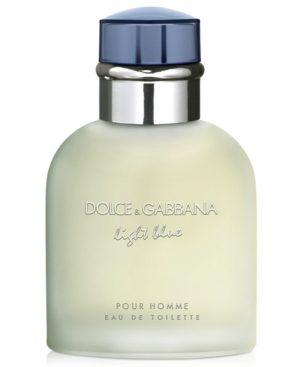 Dolce & Gabbana Men's Light Blue Pour Homme Eau de Toilette Spray, 4.2 oz.