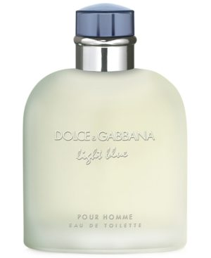 Dolce & Gabbana Men's Light Blue Pour Homme Eau de Toilette Spray, 6.7 oz.