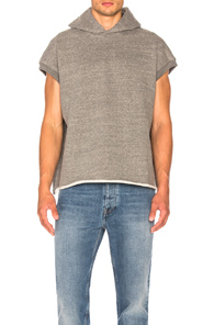 Fear of God Heavy Terry Muscle Hoodie in Gray