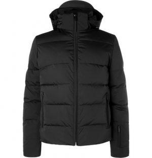 Fendi - Appliquéd Quilted Down Ski Jacket - Black