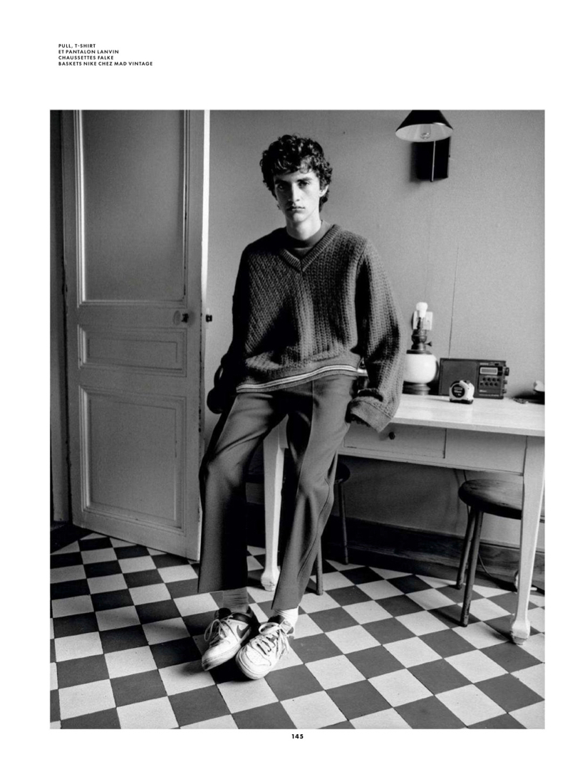 Les Parisiens: Gareth Murphy & Antoine Gouffaux for GQ France