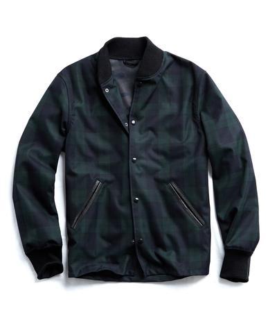b435e9a073994 Golden Bear + Todd Snyder Exclusive Blackwatch Coaches Jacket | The  Fashionisto