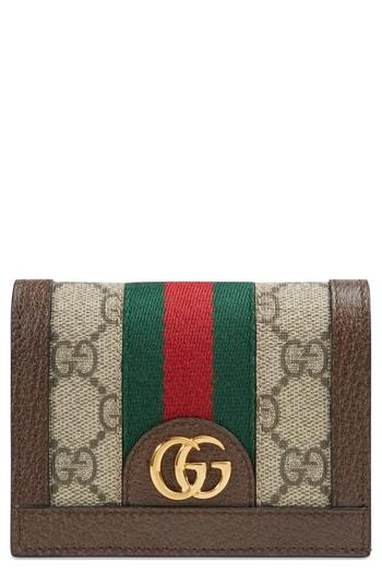 5bae45298768 Gucci Ophidia Gg Supreme Card Case – | The Fashionisto