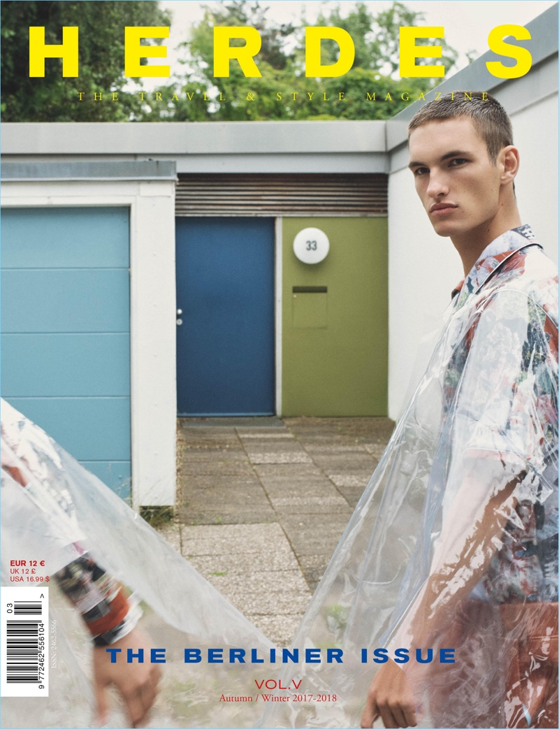 Herdes Unveils Berliner Issue with Fresh Faces Kaher & Tom