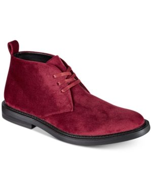 I.n.c. Men's Salem Velvet Chukka Boots, Created for Macy's Men's Shoes