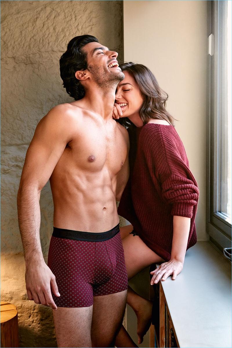 IMPETUS taps Alex Gavrilovic for its fall-winter 2018 underwear campaign.