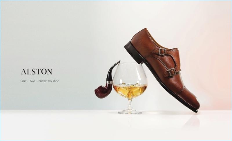 Alston Monk Strap Shoes from Jones Bootmaker
