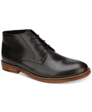 Kenneth Cole Men's Dance Leather Chukka Boots Men's Shoes