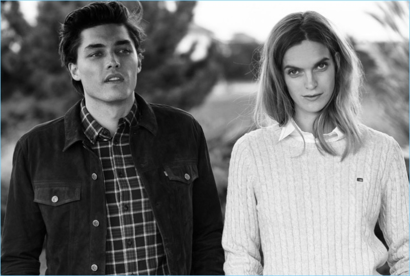 Lexington taps Isaac Weber and Mirte Maas as the stars of its fall-winter 2018 campaign.