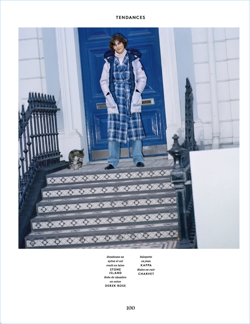 Notting Hill: Liam Kelly for Vogue Hommes Paris