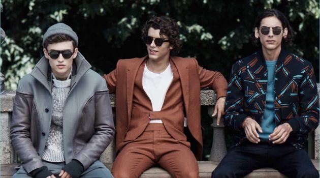Pedro Lucas, Sergio Amore & Edoardo Chady Sport Fall Fashions for Life & Style México
