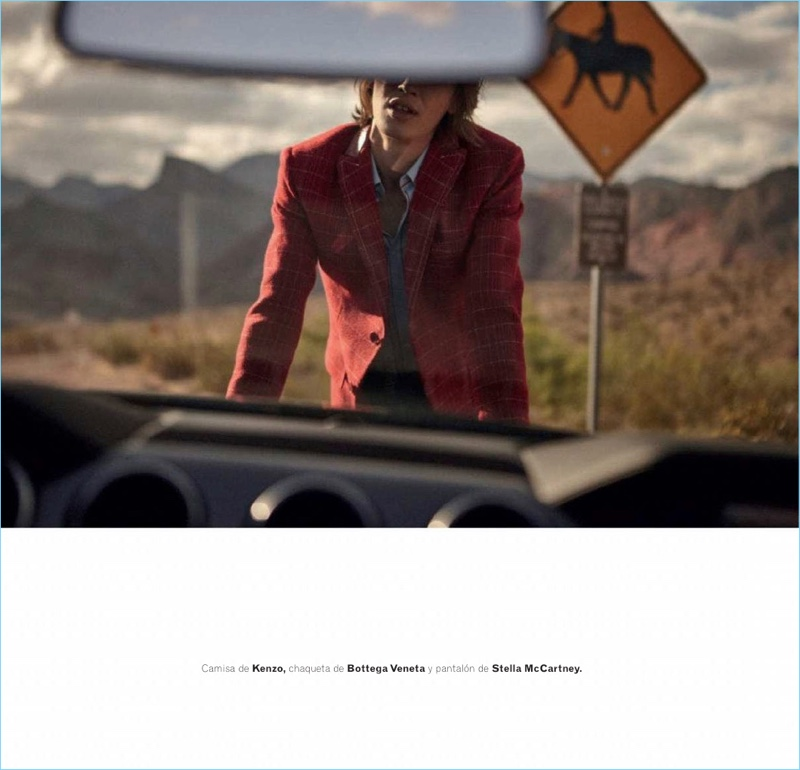 Hot Wheels: Lucas Satherley Hits the Road for Las Vegas with Esquire España