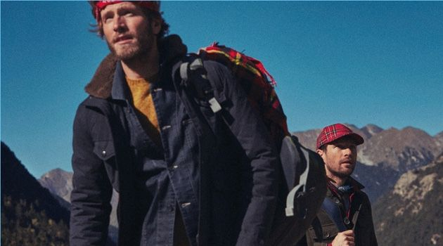 Cold Mountain: Vince Dickson & Tobias Lewis Sport Rugged Style for Mango
