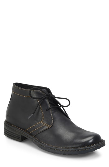 Men's B?rn 'Harrison' Chukka Boot, Size 8 M - Black (Online Only)