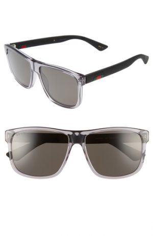 Men's Gucci 58Mm Polarized Sunglasses -