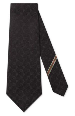 Men's Gucci Fedra Silk Jacquard Tie