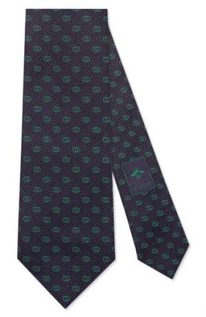 Men's Gucci Gg Tinev Silk Jacquard Tie