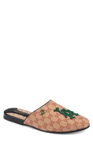 Men's Gucci Original Gg Slipper, Size 9US / 8UK - Beige