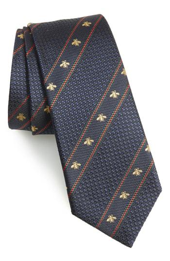 Men's Gucci Stripe Silk Tie
