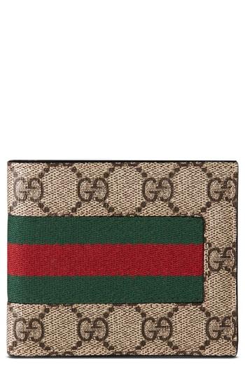 e23c1caeaf69 Men's Gucci Supreme Wallet – | The Fashionisto