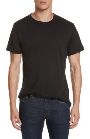Men's John Elliott Crewneck T-Shirt, Size Small - Black