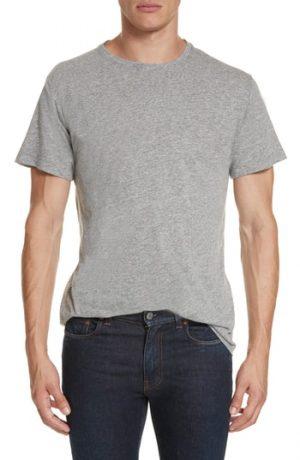 Men's John Elliott Crewneck T-Shirt, Size Small - Grey